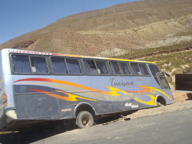 Take your life into your hands on a Bolivian Bus